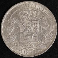 5 Fr. Leopold II 1869