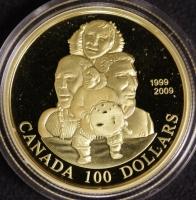 100 $ Canada 2009 Nunavut