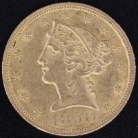 5 $ Liberty 1850   ss