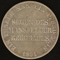 Ausbeutetaler 1861