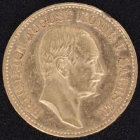20 Mark Sachsen 1905