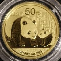 1/10 Oz AU Panda 2011