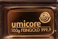 Goldbarren - 100 Gramm